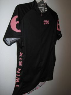 Woman's Large Twin Six Short Sleeved Bike Jersey