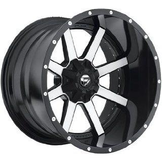 Fuel Maverick 22x12 Machined Black Wheel / Rim 6x135 & 6x5.5 with a