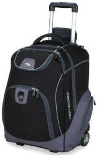 High Sierra Powerglide Wheeled Laptop School Backpack Black WBP54066