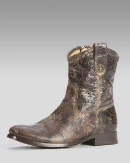 Frye Melissa Button Tab Short Boot