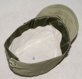 Army IJA Em NCO Field Cap Hat with Havelock Neck Flap XL 32349
