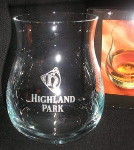 Highland Park Official Glencairn Canadian Whisky Glass Scotch Whisky