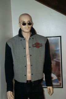 50TIES Harley Davidson Jacket Great Look Authentic Small