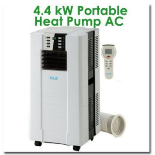 15000BTU Portable Mobile Heat Pump Air Conditioner Unit