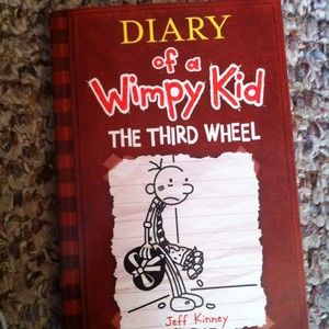 Diary Of A Wimpy Kid The Third Wheel in Children & Young Adults
