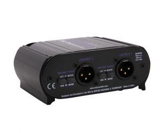 Art Dual Z Direct Passive Di 2 Channel Instrument Direct Box Dualz