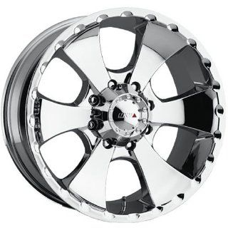 MKW Offroad M19 20 Chrome Wheel / Rim 8x6.5 with a 10mm Offset and a