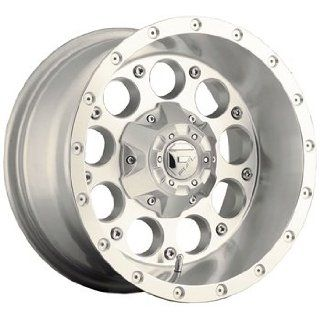 Fuel Revolver 17x9 Silver Wheel / Rim 5x4.5 & 5x5 with a  12mm Offset