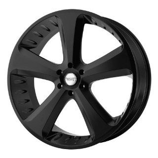 American Racing Vintage Circuit 20x9 Black Wheel / Rim 5x115 with a