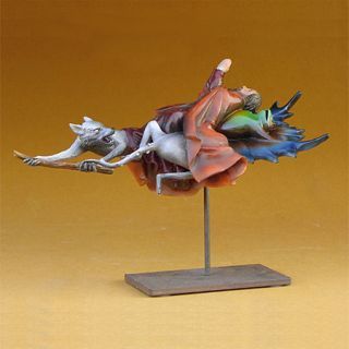 Hieronymus Bosch Saint Anthony Frog Sculpture Figurine