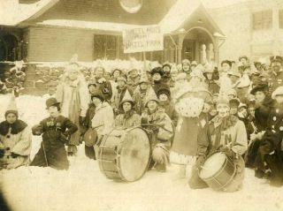Hazel Park St Paul MN The Hazel Nuts Winter Carnival About 1916
