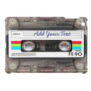 Funny Vintage 80s Retro Music Cassette Tape iPad Mini Case