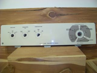 GE Washer Control Panel 8 Cycle 2 Speed Heavy Duty Super Capacity