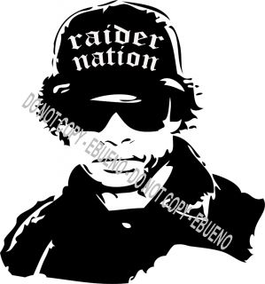 Oakland Raider Nation West Side Hip Hop Gangster Sticker Decal