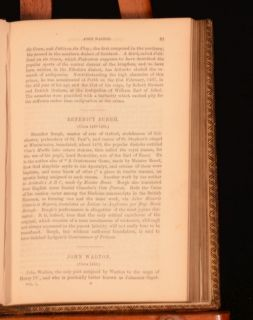 1854 Johnsons Lives of The English Poets Samuel Johnson First Edition