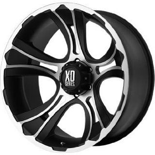 XD XD801 17x9 Machined Black Wheel / Rim 5x5.5 with a 0mm Offset and a
