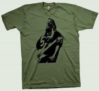 Jeff Hanneman T Shirt Slayer Metallica Anthrax Motorhead Megadeth