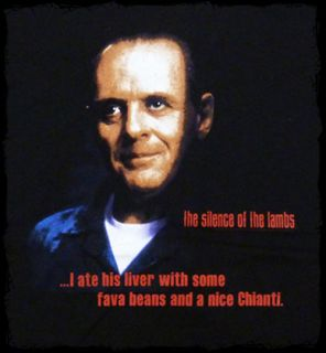 The Silence of the Lambs   Hannibal Lecter portrait t shirt   Official