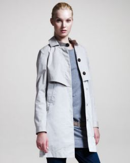 Brunello Cucinelli A Line Trench Jacket