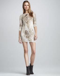 Young Fabulous and Broke Keaton Leopard Print Dress