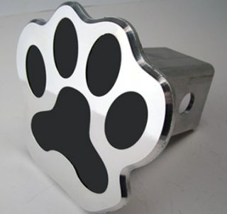 Dog Paw Cute Aluminum Hitch Cover Truck Plug Dog Lovers