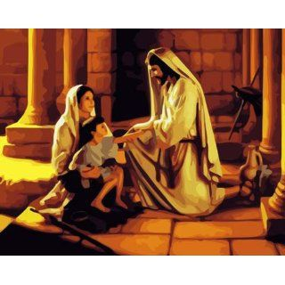 DiyOilPaintings Jesus Paint By Number Kits, Religious Paint By Numbers