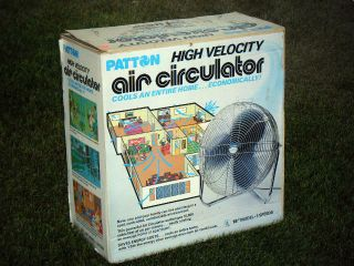 Air Circulator High Velocity Adjustable Floor Hassock Fan