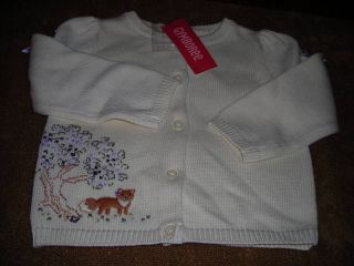 Gymboree 2T Autumn Highlands Fox Sweater Cardigan