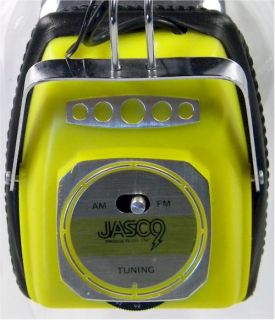 this listing vintage jasco am fm headphone radio model 212xla