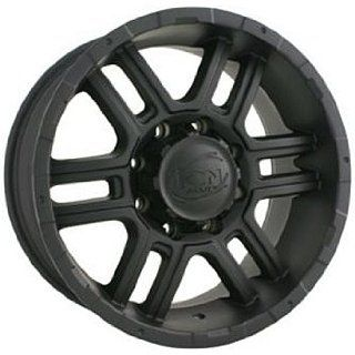 Alloy Ion Style 179 16 Matte Black Wheel / Rim 8x6.5 with a 10mm
