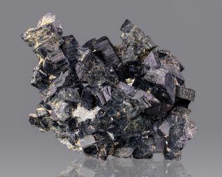 Black Arfvedsonite Crystals Mont Ste Hilaire Quebec for Sale