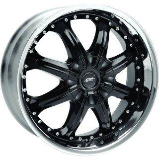 JR Octane 20x8.5 Black Wheel / Rim 5x135 & 5x5.5 with a 18mm Offset