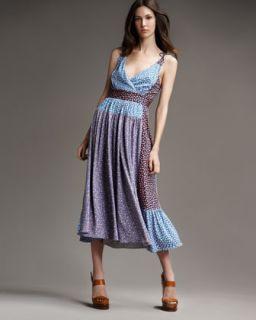 MARC by Marc Jacobs Elm Print Colorblock Dress