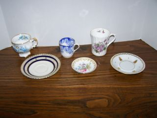 Porcelain & Fine Bone China   Made in England   Mixed Lot Cups
