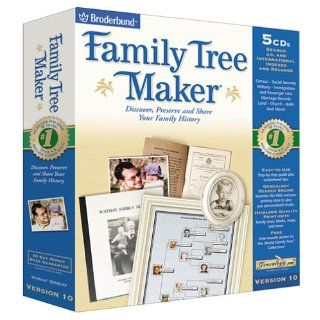 Family Tree Maker 10 Software
