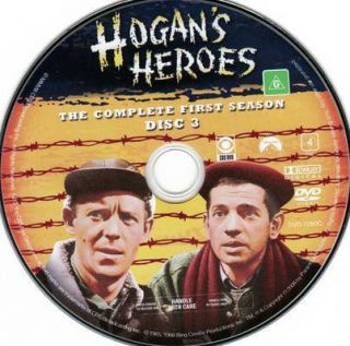 Hogans Heroes Season 1 Disc 3 DVD Disc Only