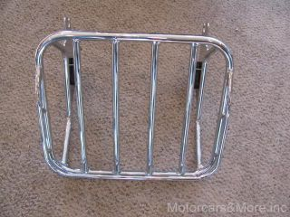 Harley Davidson Road King Detachable Two up Luggage Rack.FLHT, FLHX