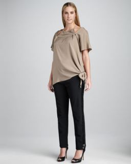 40UC JilRo Des Halter Cutout Top & Sequined Twiggy Pants