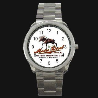 Moose Drool Beer Logo New Style Metal Watch: Everything