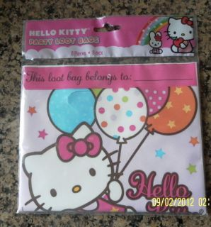 Hello Kitty Balloon Dreams Party Loot Bags