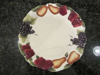 Home Interiors Homco Sonoma Villa Dinner Plate