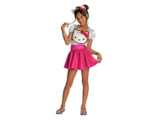 Toddler Hello Kitty Dress Dress Up Halloween Costume Child 4 6 New