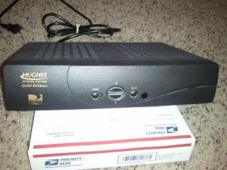 TV Plus Receiver Hughes Gold Edition Model Hird E2 with Card