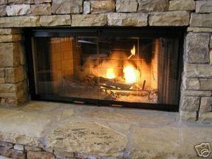 36 Fireplace Door Set to Fit Heatilator Unit