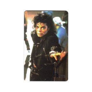 Collectible Phone Card 10u Michael Jackson Scene From