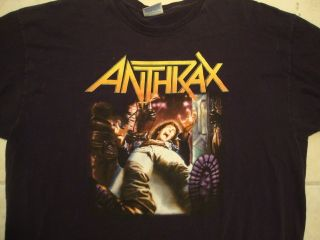 Anthrax Heavy Metal Music Concert Tour T Shirt 2XL