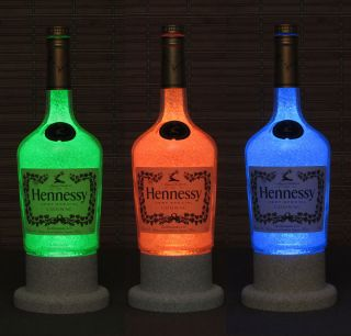Hennessy Cognac Color Changing Bottle Lamp Bar Light Remote Control