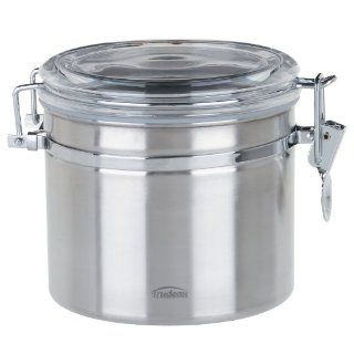Trudeau 0871802 Stainless Steel Food Storage Canister, 52
