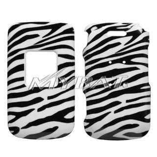 Zebra Skin Phone Protector Cover for SAMSUNG U310 (Knack