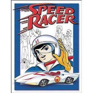 Comic Book Speed Racer Metal Tin Sign Gang Nostalgic Home